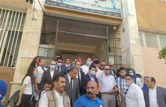 وزير الشباب والرياضة ومحافظ سوهاج يشهدان تصفيات أوليمبياد الطفل المصري|صور