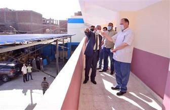 محافظ أسيوط يتفقد أعمال استكمال تطوير المبنى الإداري وورش وحدة الإنقاذ السريع| صور