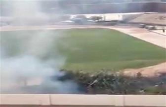 إخماد حريق شب في ستاد طنطا الرياضي دون خسائر بشرية