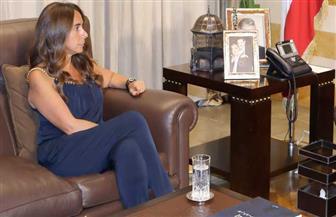 الرئيس اللبناني يوقع مرسوم تعيين وزيرة الدفاع زينة عكر وزيرة للخارجية بالوكالة