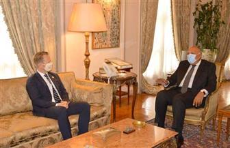 وزير خارجية الدنمارك يثمن جهود مصر فى وقف تدفقات للهجرة غير الشرعية