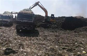 محافـظ المنوفية: رفع 255 ألف طن قمامة من جبل منوف العمومي | صور