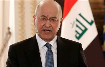 الرئيس العراقي يؤكد حرص بلاده على تعزيز العلاقات مع الكويت