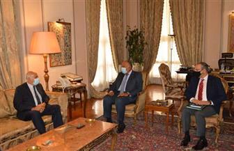 ننشر تفاصيل لقاء وزير الخارجية بقيادات حركة فتح الفلسطينية | صور