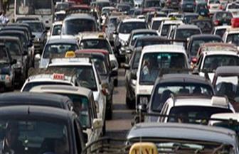 حادث سير يتسبب في تكدس الحالة المرورية أعلى الدائري