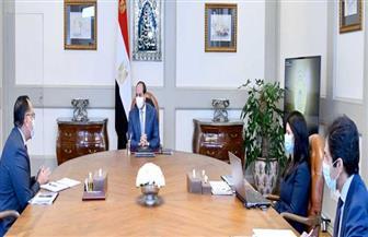 الرئيس السيسي يوجه بالتوسع في التجمعات التنموية الجاري تنفيذها في سيناء