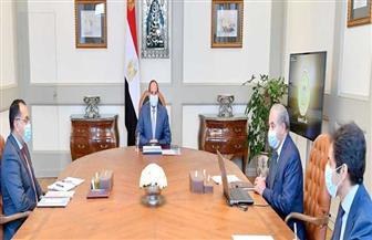الرئيس السيسي يوجه باستمرار وزارة التموين في اعتماد خطة تعزيز جهود توفير السلع الأساسية