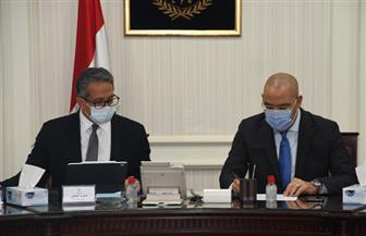 وزيرا الإسكان والسياحة والآثار يتابعان موقف المشروعات المشتركة بالقاهرة التاريخية|صور