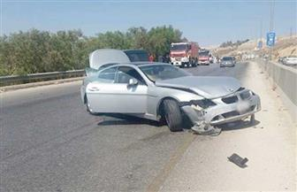 مصرع وإصابة 3 أشخاص في حادث تصادم بملوي