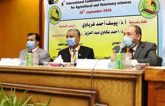 افتتاح فعاليات المؤتمر السادس لشباب الباحثين للعلوم الزراعية والبيطرية بقنا