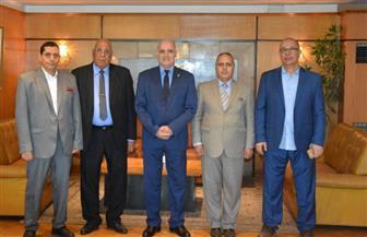 جامعة الفيوم: بحث عقد بروتوكول تعاون مع رجال أعمال ومستثمرين