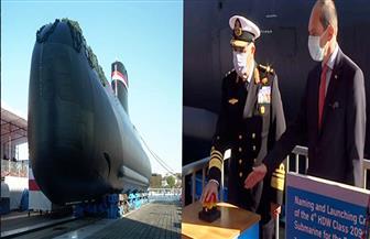 القوات البحرية تحتفل بتدشين الغواصة الرابعة S-44 من طراز (209 / 1400) ألمانية الصنع   صور