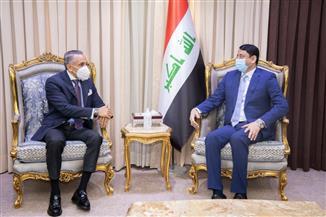 الأمين العام لمجلس الوزراء العراقي يؤكد اهتمام الكاظمي بإدامة العلاقات الثنائية مع مصر