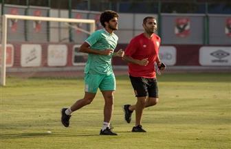 جلسة في الجيم لـ«أحمد الشيخ» لاعب الأهلي