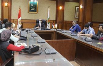 نائب محافظ سوهاج يلتقي وفدا ببرنامج التنمية المحلية لصعيد مصر لتطوير المراكز التكنولوجية   صور