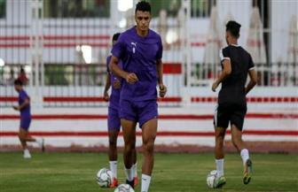 لاعبو الزمالك يتابعون جزءا من مران الوداد قبل مواجهة الأهلي