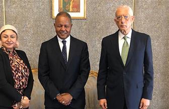 نائب وزير الخارجية للشئون الإفريقية يستقبل مدير برنامج الغذاء العالمي في مصر