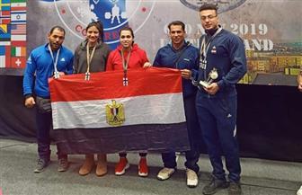 الاتحاد المصري للقوة البدنية ومصارعة الذراعين يسلم مكافآت لأبطال مصر الدوليين| صور