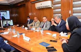 وزيرة التجارة تبحث مع ممثلي شركة أمازون العالمية خطط التوسع في السوق المصرية