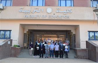 جامعة سوهاج تكرم 89 متدربا لاجتيازهم دورة إعداد المعلم الجامعي | صور