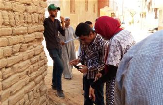 رئيس مدينة البياضية بالأقصر يتفقد مشروع الصرف الصحي بقرية البغدادي   صور