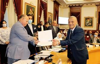 محافظ القاهرة يكرم فريق عمل البوابة الجغرافية