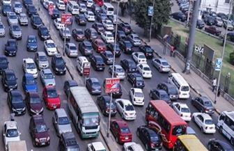 النشرة المرورية.. كثافات بمحاور وشوارع العاصمة