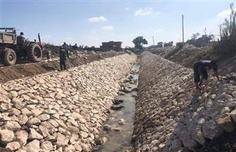 محافظ كفر الشيخ: تبطين الترع للحفاظ على أعمال الطرق والمياه وتحسين البيئة | صور