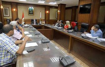نائب محافظ سوهاج يترأس اجتماع لجنة مراجعة تراخيص أعمال البناء