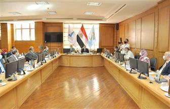 محافظ كفر الشيخ يشهد اجتماع مجلس الجامعة | صور