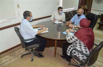 جامعة سوهاج تناقش الوضع الراهن والحلول المقترحة لمحو الأمية بالمحافظة