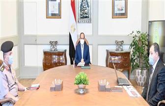 الرئيس السيسي يوجه بتطوير قطاع النقل البحري لتحقيق أقصى عائد اقتصادي وتجاري لمصر