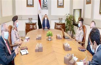 الرئيس السيسي يطلع على مخطط المشروع العالمي «مرابط مصر» لتربية وإنتاج الخيول العربية