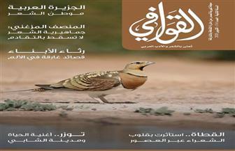 العدد الجديد من مجلة «القوافي» الشعرية يناقش «الجزيرة العربية موطن الشعر»