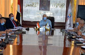 محافظ الأقصر يناقش تنفيذ المشروعات القومية في جلسة المجلس التنفيذي | صور