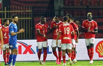 الشوط الأول: الأهلي يتقدم بثنائية أمام الترسانة في كأس مصر