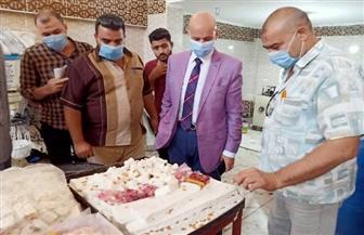 """صحة الشرقية تغلق 3 مصانع وتعدم """"طن ونصف"""" حلويات فاسدة   صور"""