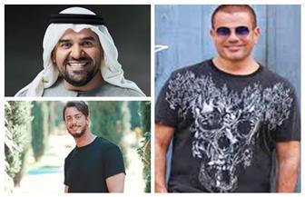 الجسمي ولمجرد والهضبة وتامر حسني وشوقي وحماقي يتصدرون المراكز الأولى في سباق أغاني صيف 2020