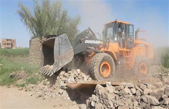 محافظ أسوان: إزالة ٢٩ حالة تعد على الأراضى الزراعية بكوم أمبو