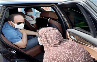 خلال جولة تفقدية.. الرئيس السيسي يوجه بالرعاية الصحية الفورية لإحدى المواطنات