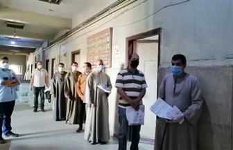 فحص 2357 مواطنا لفيروس كورونا بوحدة PCR بمستشفى أخميم المركزي للمسافرين للخارج | صور