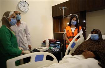 """السيدة المسنة بعد نقلها للمستشفى: """"""""شكرا يا سيادة الرئيس.. وقفوا معايا ووفروا لي كل حاجة""""   فيديو وصور"""