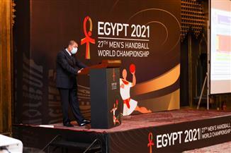 «الشباب والرياضة»: مؤتمر صحفي للإعلان عن الإجراءات الوقائية المتبعة ببطولة العالم لليد | صور