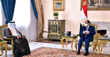 الرئيس السيسي يؤكد دعم مصر للبحرين في كافة مواقفها السياسية .. وتوافق وجهات النظر حول قضايا المنطقة