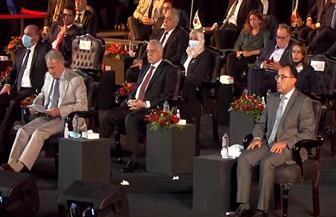 رئيس الوزراء ووزير الرياضة و17 وزيرا يشهدون مراسم قرعة بطولة العالم لليد بسفح الأهرامات | صور