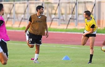 عماد فتحي ينتظم في تدريبات المصري بعد غياب 8 شهور