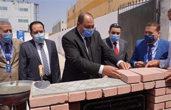 لأول مرة بالشرق الأوسط.. وضع حجر أساس أول مصنع مصري للقاحات البيطرية المحملة وراثيا |صور
