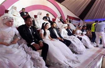 «مستقبل وطن» بأسوان ينظم حفل زفاف جماعي لـ24 عريسا وعروسا من أبناء الأسر الأكثر احتياجا| صور