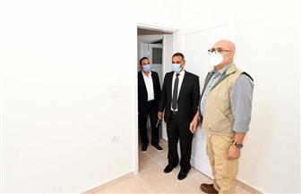 """وزير الإسكان يتفقد 29496 وحدة سكنية بـ""""الإسكان الاجتماعي"""" بمنطقة حدائق العاصمة بامتداد مدينة بدر"""