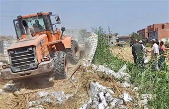 إزالة 33 حالة تعد على أملاك الدولة والأراضي الزراعية بسوهاج